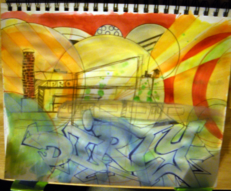 Week 10 Sketch 70% Done