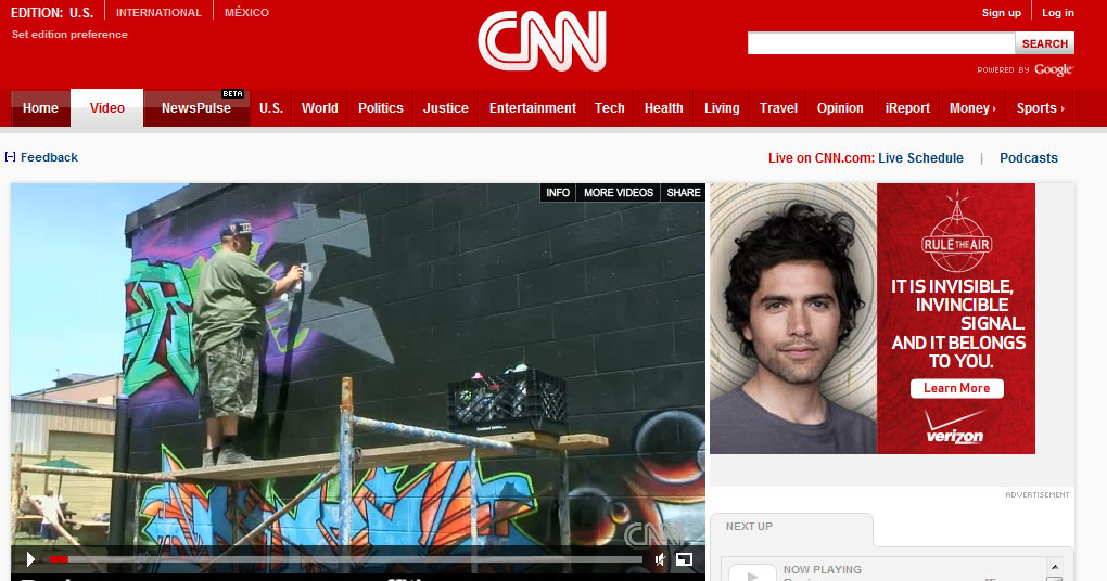 Featured On CNN