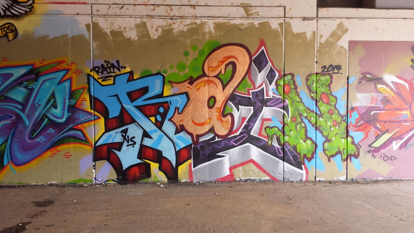 Graffiti Pieces 2014