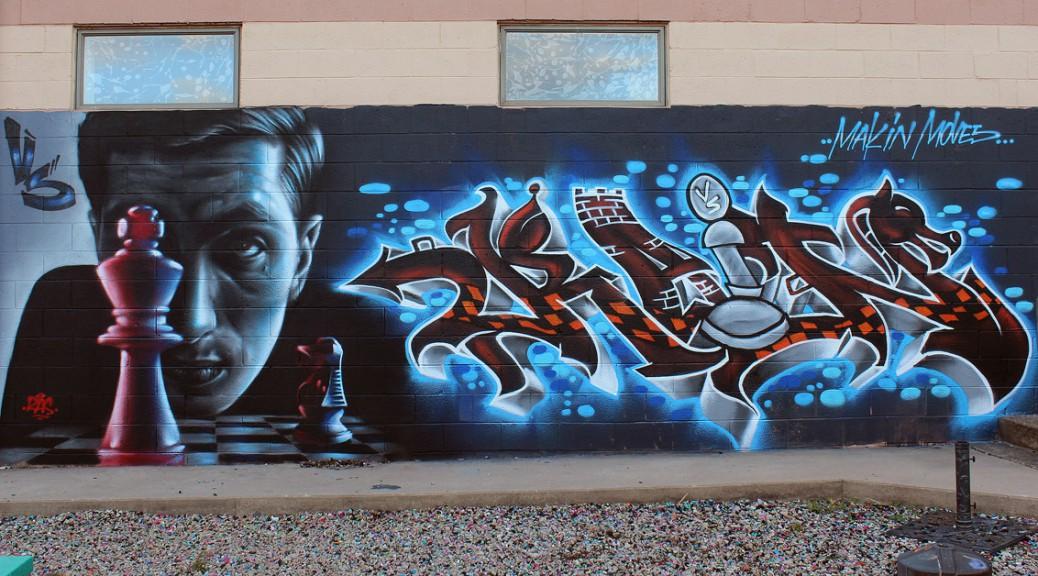 Bobby Fischer Wall Portrait by RAS