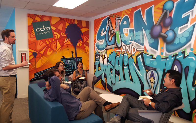 CDM LA Graffiti Mural Project