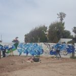First wall in Rosarito Mx