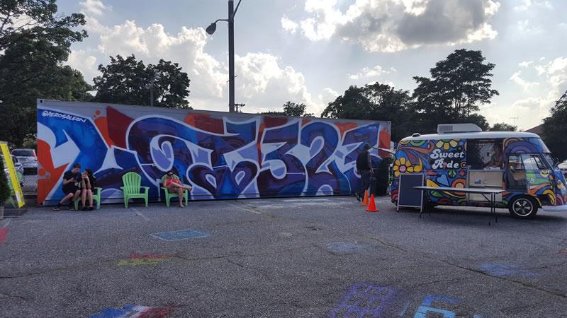 Lot 323 Mural in Woodbury NJ