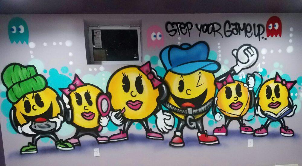Pac Man Game Room