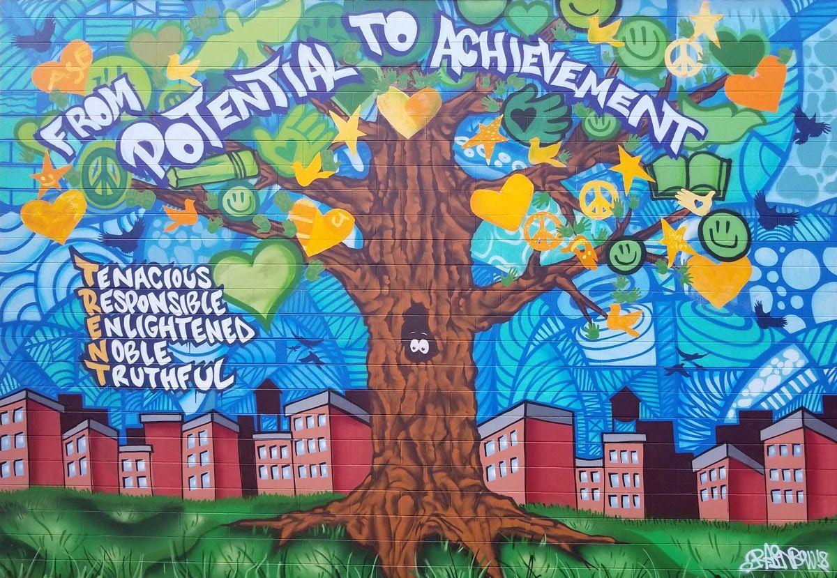 Christina Seix Academy Mural