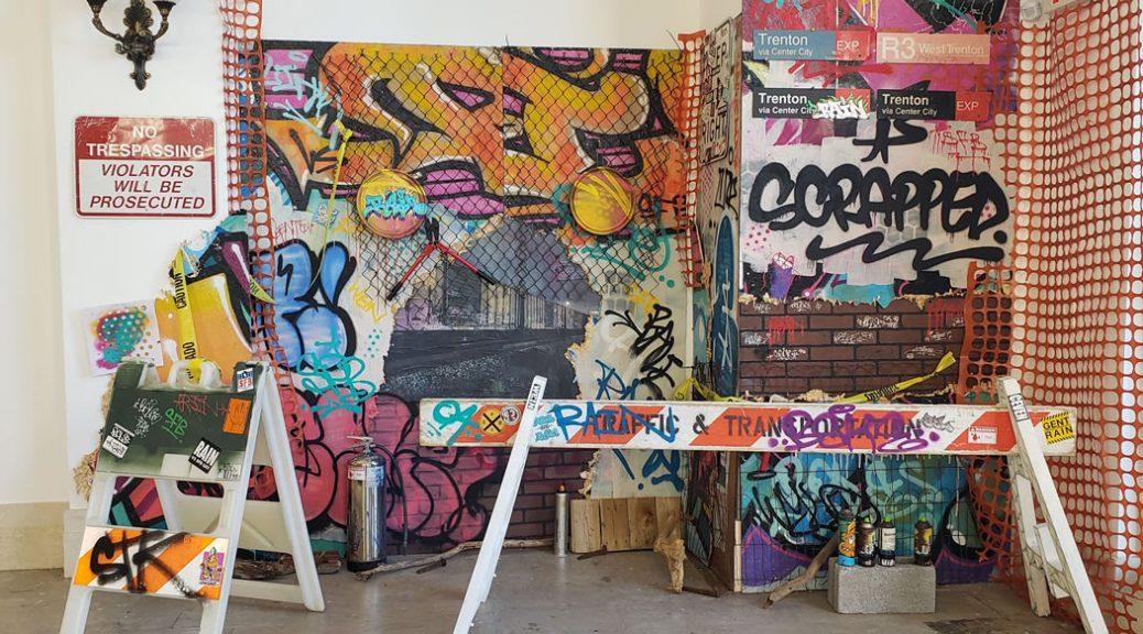 LeonRainbow com   Trenton NJ Graffiti Muralist Graphic Artist