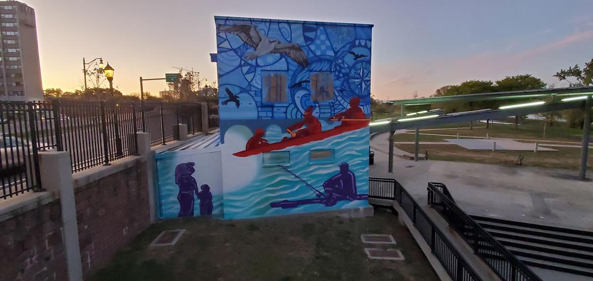 Raritan River Ways Mural