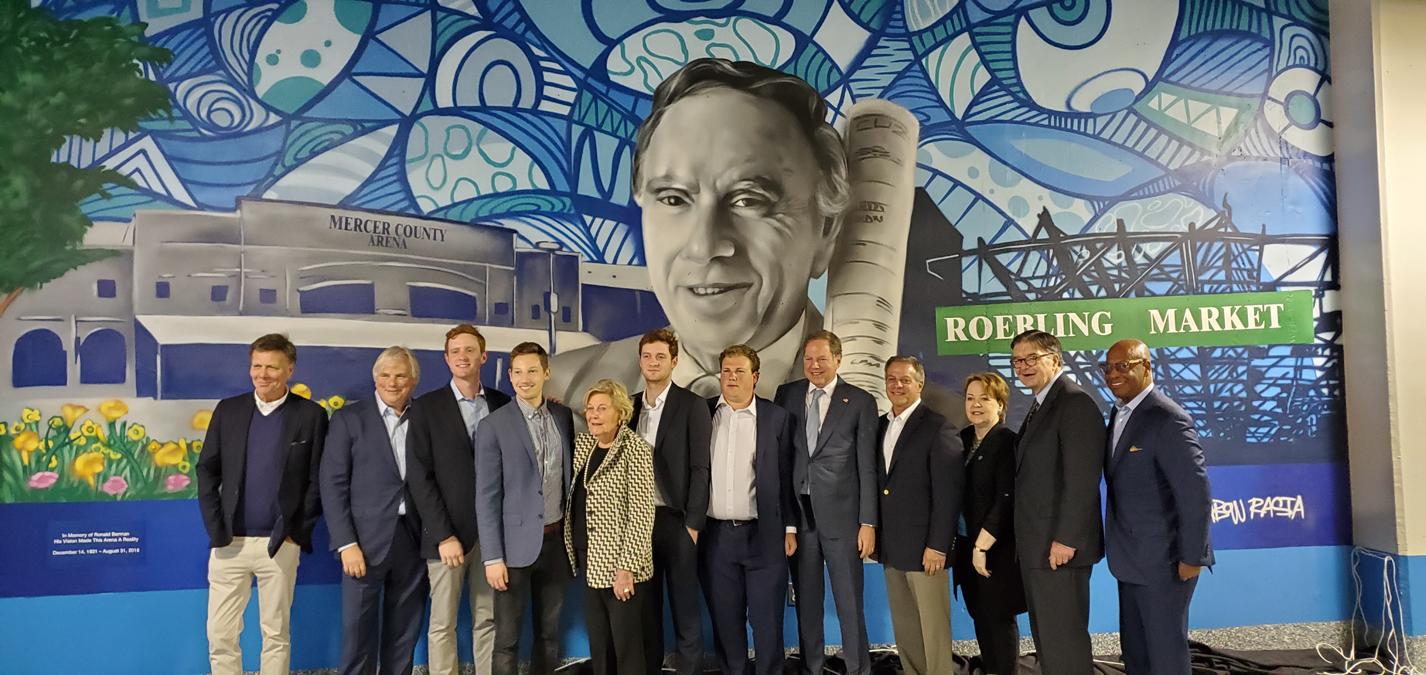 Ron Berman, Roebling Murals at Cure Arena