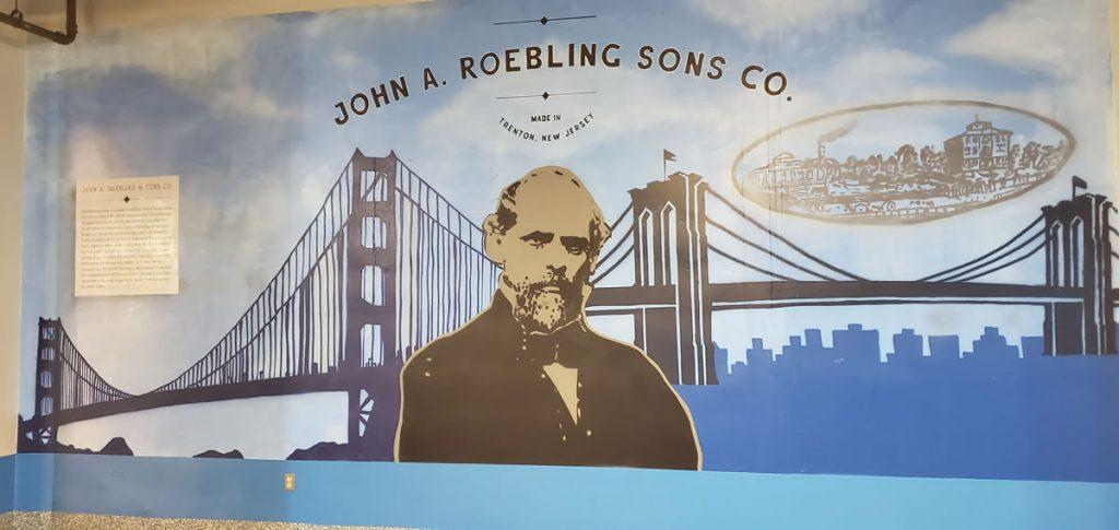 John A Roebling Mural