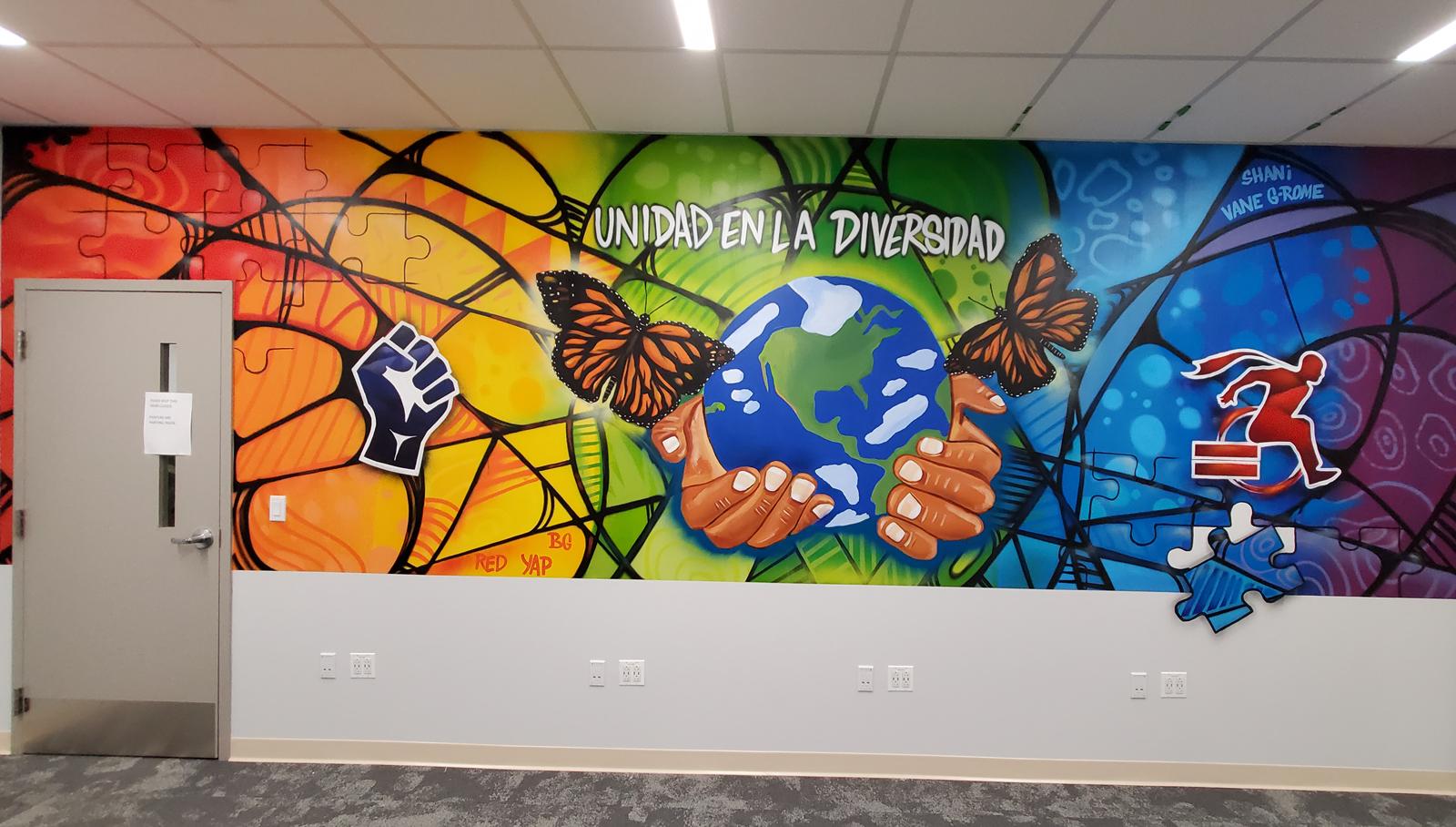 Rider Diversity Murals